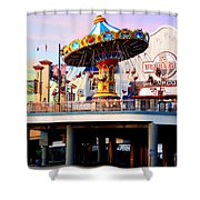 Pleasure Pier Shower Curtain
