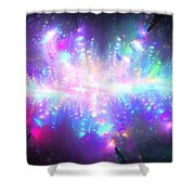 Pleiadian Stars Shower Curtain