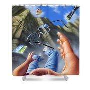 Plein Air Shower Curtain by Jerry LoFaro