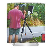 Plein Air L'automne Shower Curtain
