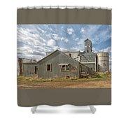 Plevna Grain Elevator Shower Curtain