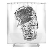 Plies Shower Curtain