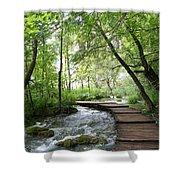 Plitvice Lakes National Park Shower Curtain