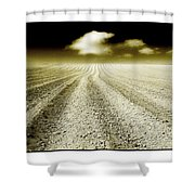 Ploughed 1 Shower Curtain