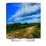 Plum Island Dunes Shower Curtain