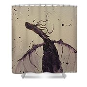 Plum Magical Shower Curtain