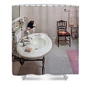 Plumber - The Bathroom  Shower Curtain