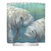 Plump And Placid Shower Curtain