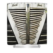 Plymouth Grille Shower Curtain