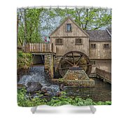 Plymouth Grist Mill Shower Curtain