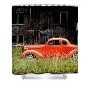 Plymouth Hot Rod Shower Curtain