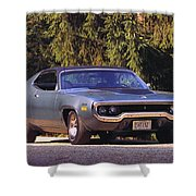 Plymouth Road Runner Shower Curtain