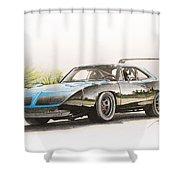 Plymouth Superbird 1970 Shower Curtain