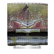 Plymouth V8 Shower Curtain