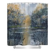 Pm River 2 Shower Curtain