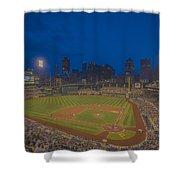 Pnc Park Pittsburgh Pirates C Shower Curtain