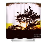 Pnw Sunset Shower Curtain