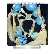 Pod Of Hope Shower Curtain