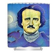Poe Shower Curtain