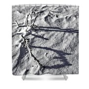 Poetic Texture Shower Curtain
