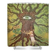 Poetry And Precious Moments Of Bliss. Shower Curtain