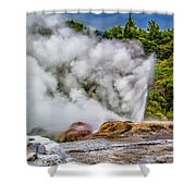 Pohutu 2 Shower Curtain