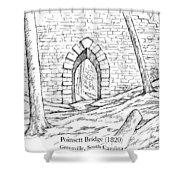 Poinsett Bridge Shower Curtain
