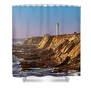 Point Arena Shower Curtain