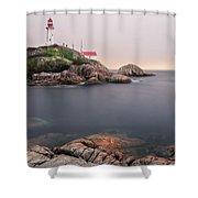 Point Atkinson Lighthouse Shower Curtain