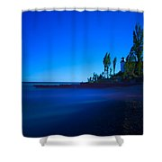 Point Betsie Lighthouse Shower Curtain