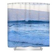 Point Break Shower Curtain