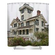 Point Fermin Lighthouse Shower Curtain