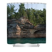 Point Shower Curtain