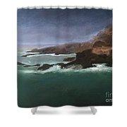 Point Lobos Monterey Shower Curtain