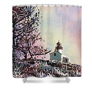 Point Loma Lighthouse- San Diego Shower Curtain