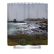 Point Montara Lighthouse Shower Curtain