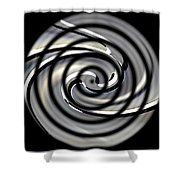 Point Of Illusion Shower Curtain