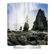 Point Of The Arches 4 Shower Curtain