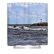 Point Pleasant New Jersey Shower Curtain
