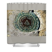 Point Reyes East Shower Curtain