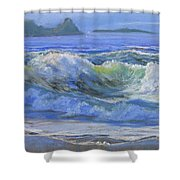 Point Reyes Shower Curtain
