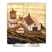 Point Reyes Lighthouse 2 Shower Curtain