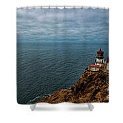 Point Reyes Lighthouse Shower Curtain