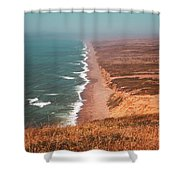 Point Reyes National Seashore Shower Curtain
