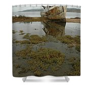 Point Reyes Reflection Shower Curtain