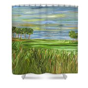 Point St. Francis Shower Curtain