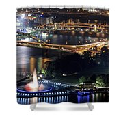 Point State Park Shower Curtain