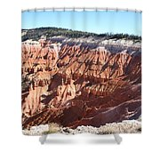 Point Supreme - Cedar Breaks Shower Curtain