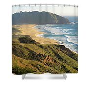 Point Sur National Park Shower Curtain