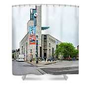 Pointe A Calliere Museum Shower Curtain